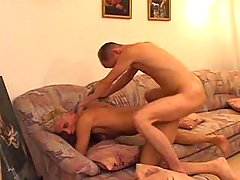 Twink gets asshole gapped and poked