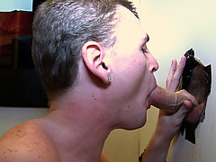 He loves that cock balls deep in his throat